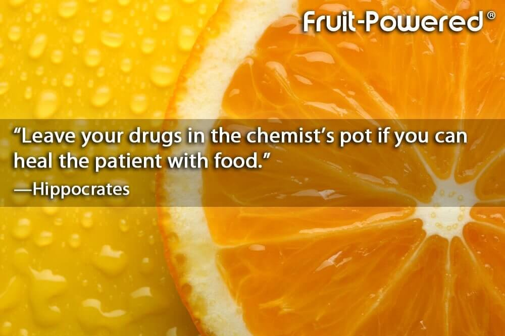 Leave your drugs in the chemist's pot if you can heal the patient with food.