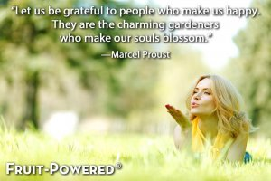 Inspirational quotes - Let us be grateful to people who make us happy. They are the charming gardeners who make our souls blossom.