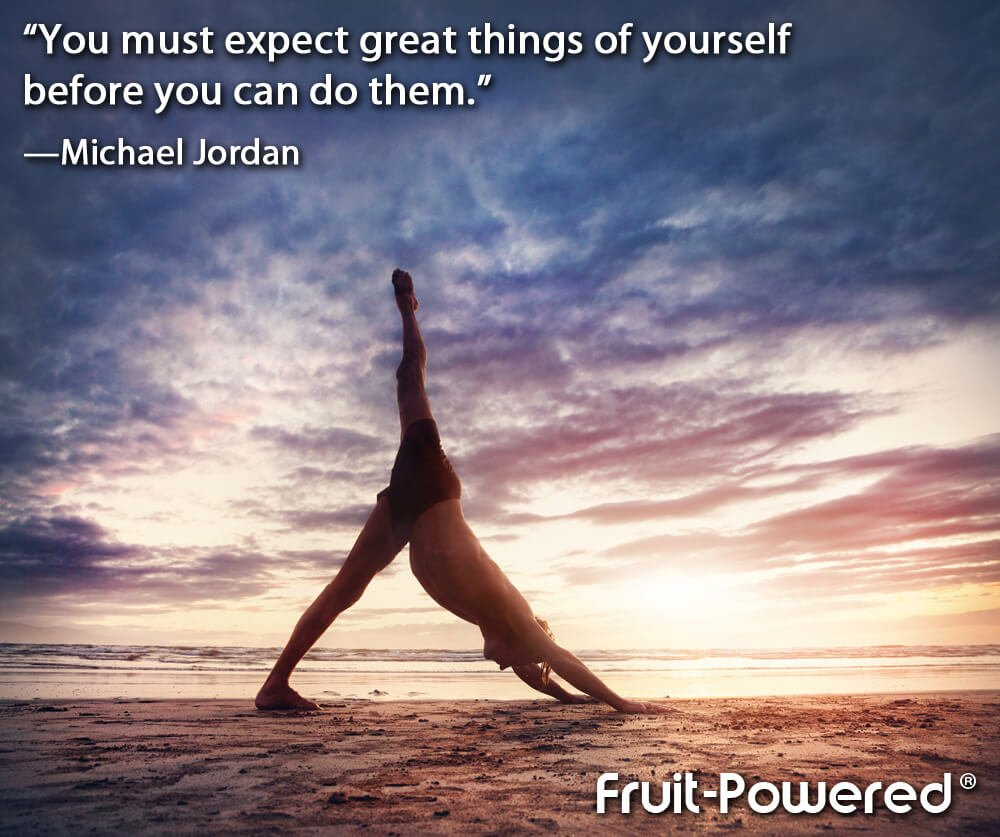 You must expect great things of yourself before you can do them.