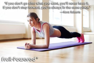 If you don't go after what you want, you'll never have it. If you don't step forward, you're always in the same place.
