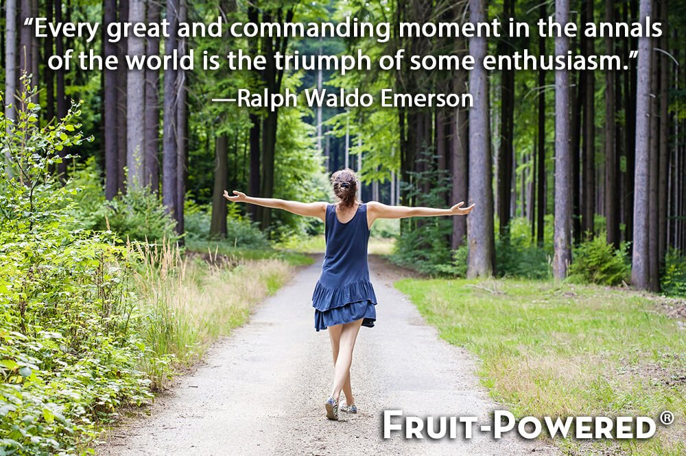 Every great and commanding moment in the annals of the world is the triumph of some enthusiasm.