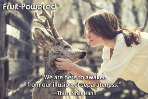 We are here to awaken from our illusion of separateness.