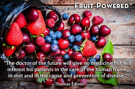 The doctor of the future will give no medicine but will interest his patients in the care of the human frame, in diet and in the cause and prevention of disease.