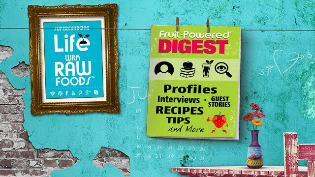 Fruit-Powered Digest promotional banner