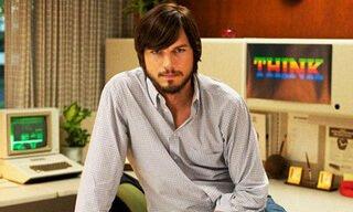 Actor Ashton Kutcher portrays Steve Jobs