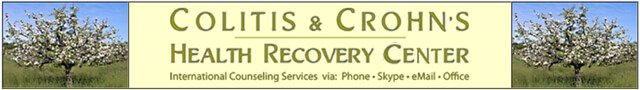 Banner for the Colitis & Crohn's Health Recovery Center website