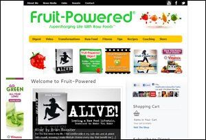Preview of the April 2013 Fruit-Powered.com redesign