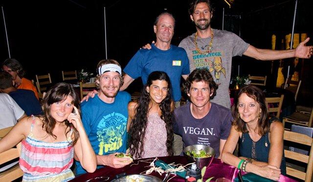 Karen Ranzi is photographed with Woodstock Fruit Festival Pioneers