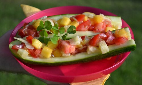 "Karen Ranzi's recipe: Cucumber ""dogs"""