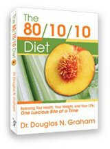 Cover of The 80/10/10 Diet by Dr. Doug Graham