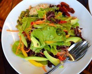 Rasayana Salad at Rasayana Raw Café in Bangkok, Thailand