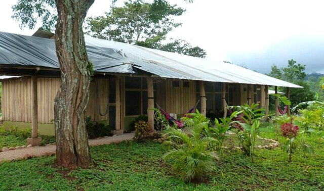 A bungalow at Tanglewood Wellness Center
