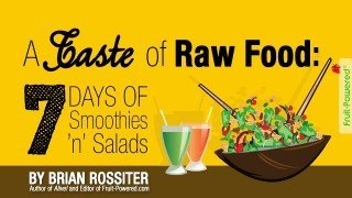 Cover of A Taste of Raw Food: 7 Days of Smoothies 'n' Salads by Brian Rossiter