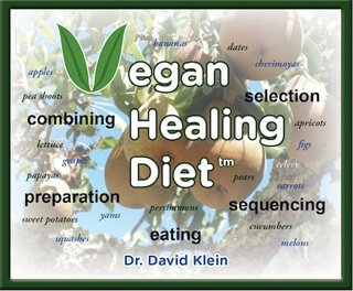 Logo for the Vegan Healing Diet by Dr. David Klein