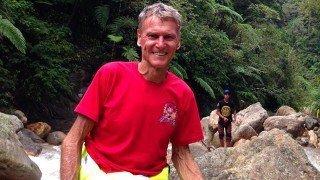 Robert Lockhart on Mount Apo in the Philippines