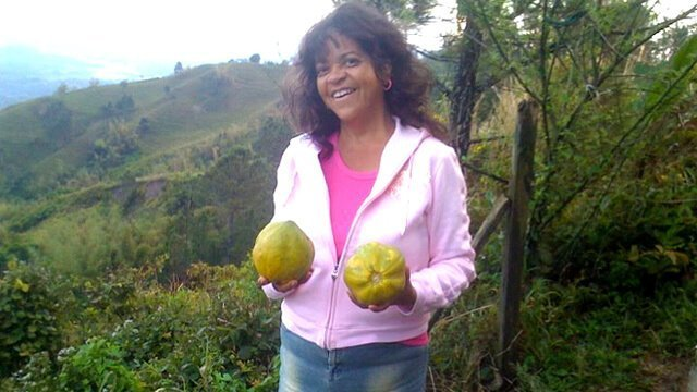 Toni Allen holding two tropical fruits - Toni Allen: 'We Were Created to Be Healthy and Beautiful'