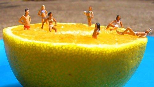 Fruit art - Anne Osborne - make a splash with citrus - Fruit-Powered