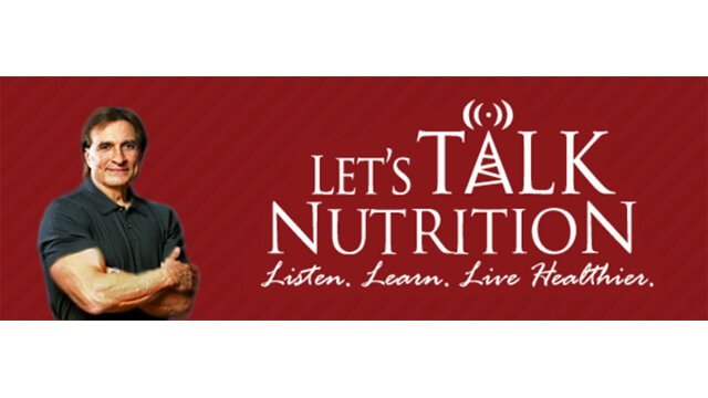 Let's Talk Nutrition website banner