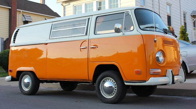 VW Bus for Nucleus Raw Foods mobile operation