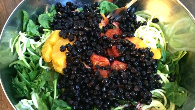 "Modified recipe for Rob's Favorite Super Salad by Rob ""Freedomfighter"" Rehnmark"