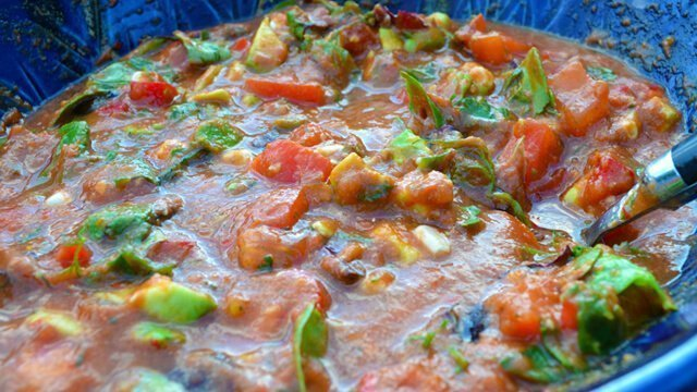 Recipe for Gazpacho Joy by Brian Rossiter