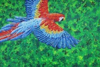 Painting of a bird by Tarah Millen