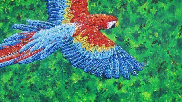 Painting of a bird by Tarah Millen