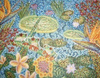 Painting of water scene by Tarah Millen