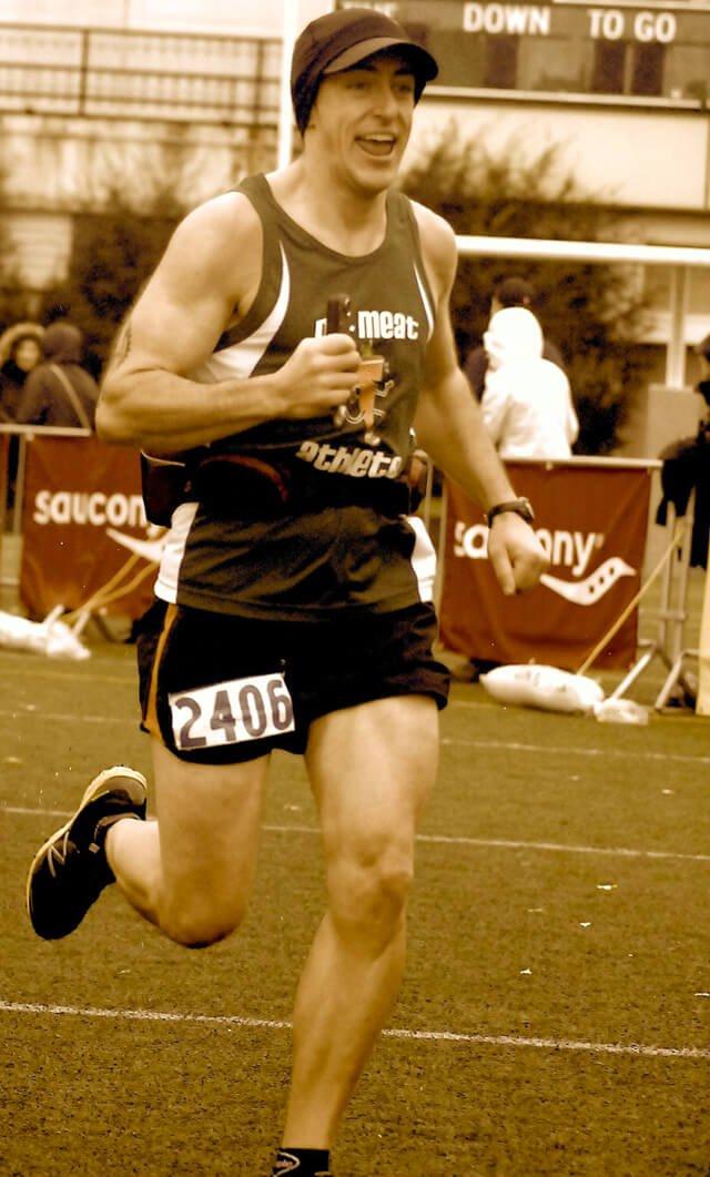 Victor VanRambutan completes a marathon