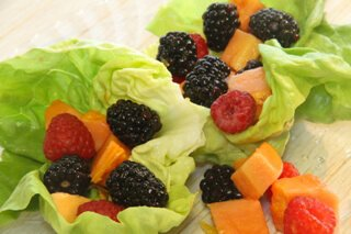 Recipe for Fruit Wraps from Ellen Livingston