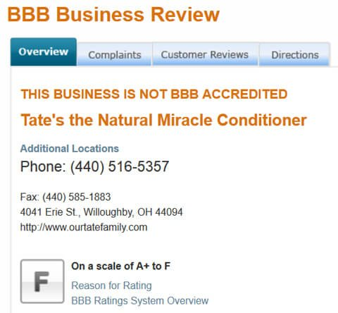 Tates-Better-Business-Bureau-review