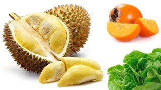 Recipe for Rockin' Durian-Persimmon Salad from Evan Rock