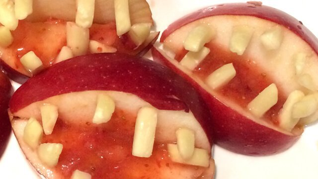 Recipe for Apple Mouths from Karen Ranzi