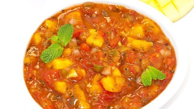 Recipe for Sweet Mango Salsa from Dr. Samuel Mielcarski