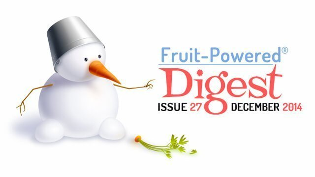 December 2014 Fruit-Powered Digest greetings