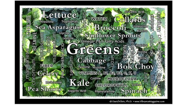 Dr. David Klein's text-art image on greens