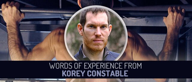 Guest Stories banner for Words of Experience from Korey Constable