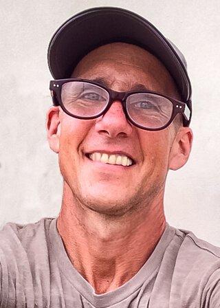 Mark Tassi in a self-portrait photograph