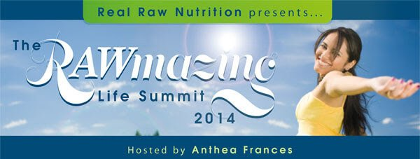 Ad for the Rawmazing Life Summit 2014