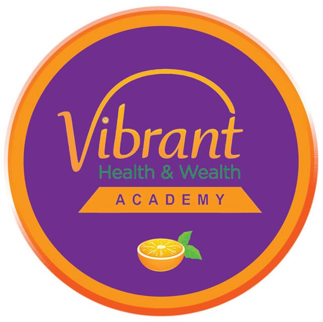 Badge of the Vibrant Health & Wealth Academy