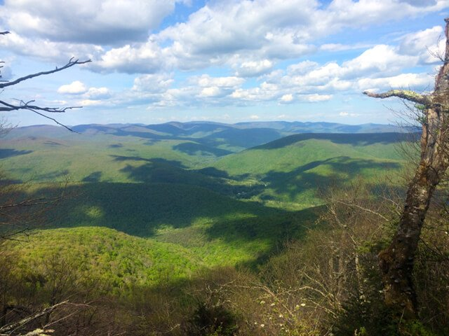 Photo from a Catskill Mountains peak by John Fallucca
