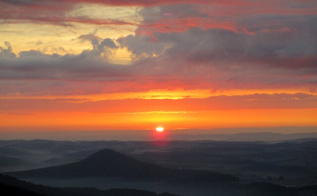 Photo from a sunrise hike by John Fallucca