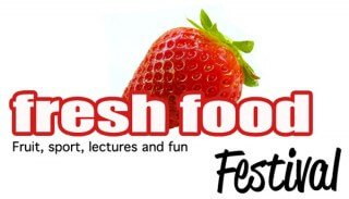 Logo for the Fresh Food Festival
