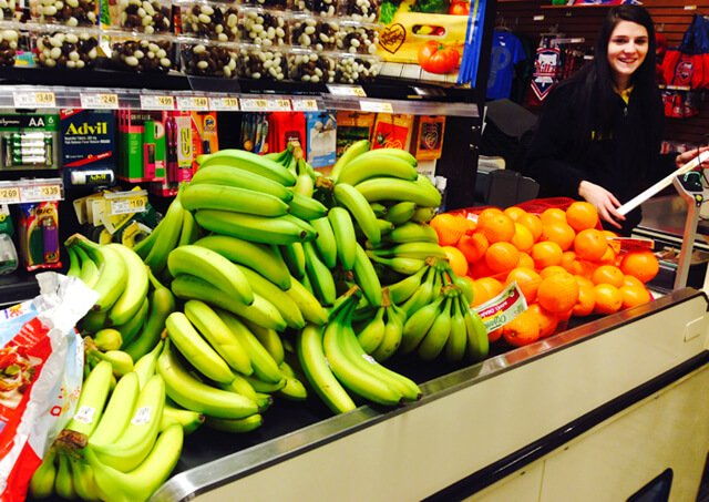Brian Rossiter's food haul on January 26, 2015