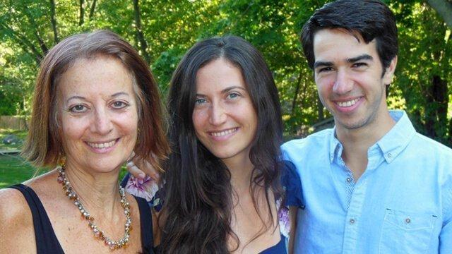 Karen Ranzi with children Gabriela and Marco