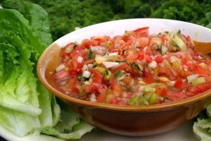 Recipe for Simple Salsa Bowls from Jamie Pounds