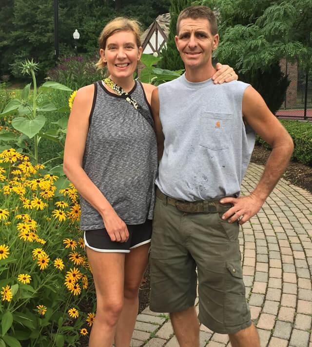 Cassandra Glynn Kutner with husband Adam