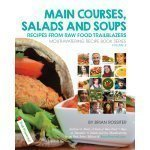 Main Courses, Salads and Soups: Mouthwatering Recipe Book Series by Brian Rossiter - front cover - Fruit-Powered Store
