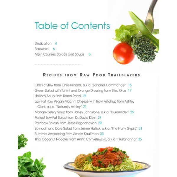 Main Courses, Salads and Soups: Mouthwatering Recipe Book Series by Brian Rossiter - table of contents 01 - Fruit-Powered Store