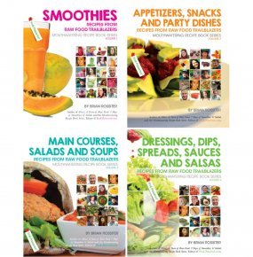 Mouthwatering Recipe Book Series by Brian Rossiter | Raw Vegan Recipes